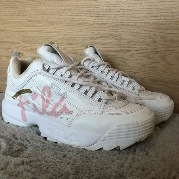 Fila Shoes | Fila Disruptor Pink And